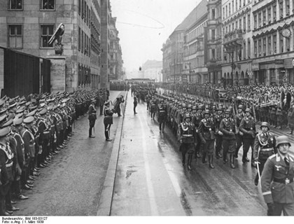 Berlin March 1 1939. Photo: Bundesarchiv/Wikimedia Commons