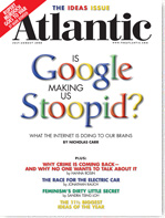 The Atlantic July-August 2008 cover